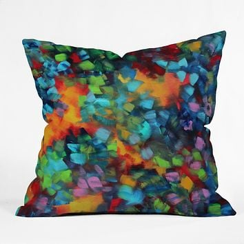 Madart Inc. Color Blast Throw Pillow