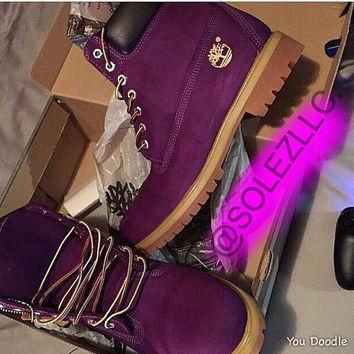 Free Free Free Shipping Custom Dyed Timberlands