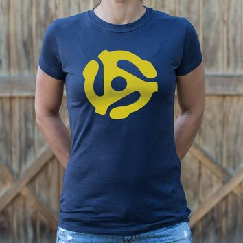 For The Ladies! 45 Stereo Adapter T-Shirt!