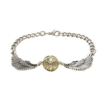 Harry Potter Golden Snitch Chain Bracelet