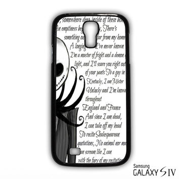 Jack And Sally Nightmare Before Christmas Couple B for phone case Samsung Galaxy S3,S4,S5,S6,S6 Edge,S6 Edge Plus phone case