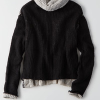 Don't Ask Why Turtleneck Sweater, Natural White