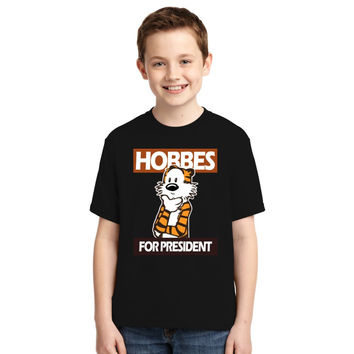 Calvin And Hobbes Youth T-shirt