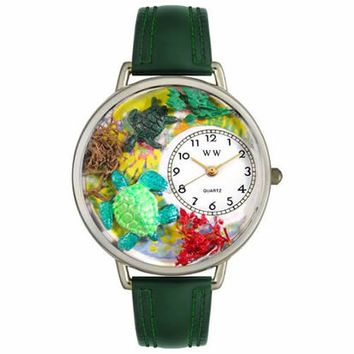 Turtles Watch in Silver (Large)