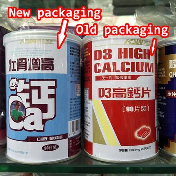 Middle-aged high  calcium cramps numbness osteoporosis adult men and older women calcium new and old packaging random delivery