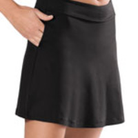 Performance Skort with Compression