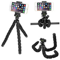 Smartphone Camera Flexible Tripod Grip Holder for Home Auto Office