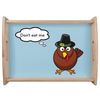 Thanksgiving wooden serving tray