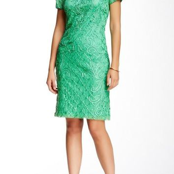 Sue Wong Short Cocktail Dress Formal