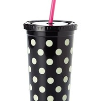 kate spade new york dot insulated tumbler - Black