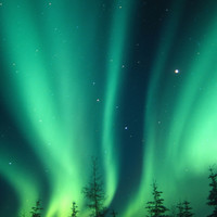 Aurora Borealis or Northern Lights, Alaska, USA Photographic Print by Tom Walker at Art.com
