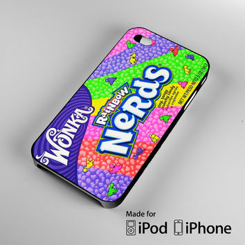 Rainbow Nerds Wonka Colourful Candy Sweets Jujups A1488 iPhone 4S 5S 5C 6 6Plus, iPod 4 5, LG G2 G3, Sony Z2 Case