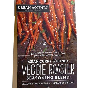 Urban Accents Asian Curry and Honey Veggie Roaster Seasoning Blend (6 Pack)