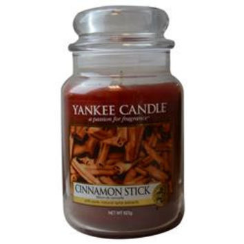 YANKEE CANDLE CINNAMON STICK SCENTED LARGE JAR 22 OZ UNISEX
