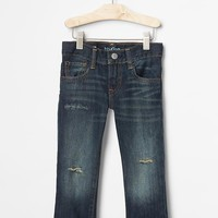 Gap Baby 1969 Destructed Straight Jeans