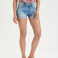 AE Denim X Midi Short, Super Vivid
