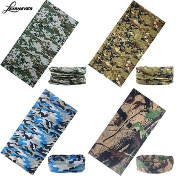 Bandana Face Mask Multi Face Mask Warmer Bandana Head Wear Snood Handkerchief Multi-Function Camo Tube Scarf Headband D01843