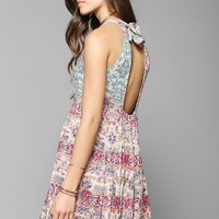 Staring At Stars Tie-Back Babydoll Dress - Urban Outfitters