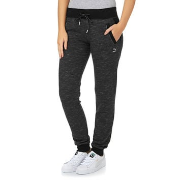 Puma Space dye Tracksuit Bottoms - Black