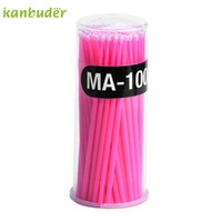 Makeup Cotton Swabs Cosmetic Individual False Eyelashes Round Cotton Remover P30 Jun27