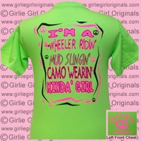 4-Wheeler #1 - Lime (Short Sleeve) [gg-1] - $16.99 : Girlie Girl™ Originals - Great T-Shirts for Girlie Girls!
