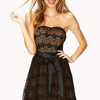 Enchanted Lace Cocktail Dress
