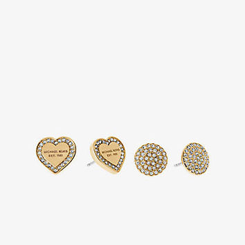 Gold-Tone Stud Earrings Set | Michael Kors