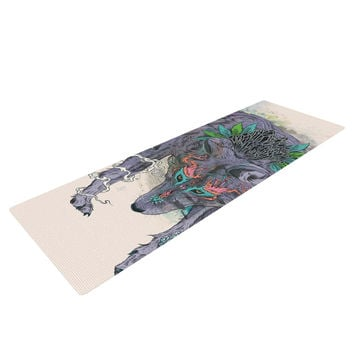 "Mat Miller ""Journeying Spirit"" Wolf Yoga Mat"