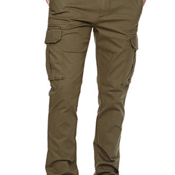 Bullhead Denim Co Skinny Herringbone Cargo Pants at PacSun.com