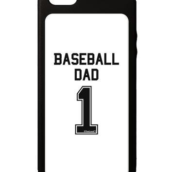 Baseball Dad Jersey iPhone 5C Grip Case  by TooLoud