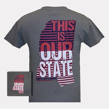 Girlie Girl Originals Mississippi This Is Our State Bright T Shirt