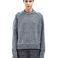 Jil Sander Womens Diamond Stitch Sweater