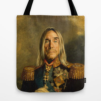 Iggy Pop - replaceface Tote Bag by Replaceface | Society6