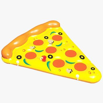 Gigantic pizza slice float  inflatable pool Swim Ring