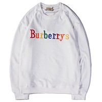 Burberrys  Women or Men Fashion Casual  Top Sweater