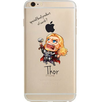 """Thor Jelly Clear Case for Apple iPhone 6/6s PLUS (5.5"""")"""