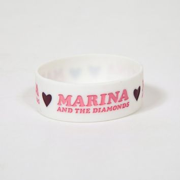 Marina and the Diamonds Official U.S. Store - Little Hearts Wristband