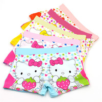 5Pcs.  cotton 3-11 years baby boys girls panties Cartoon Kids underwear pants Children's briefs Girls Cute boxer shorts