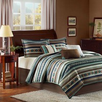 Madison Park Harley 7-pc. Comforter Set - Queen