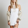 Free People Womens Solid Maribelle Mini