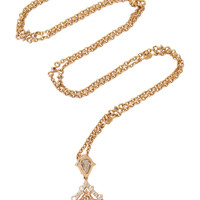 Champagne Diamond Necklace | Moda Operandi