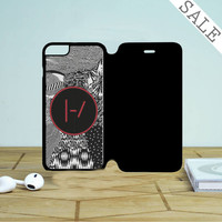 Twenty One Pilots Blurryface Patterns Iphone 6 | 6 Plus Flip Case