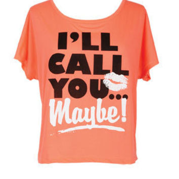 I'll Call You Maybe