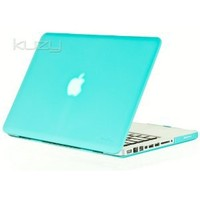 "Amazon.com: Kuzy - 15inch Teal / Turquoise Hot BLUE Rubberized Hard Case Cover for NEW Macbook PRO 15.4"" (A1286) Aluminum Unibody: Computers & Accessories"