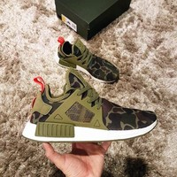 Beauty Ticks Adidas Nmd Xr1 Duck Camo Women Men Running Sport Casual Shoes Sneakers Camouflage Ar
