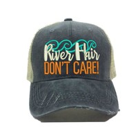 """River Hair Don't Care 2"" Trucker Hat"