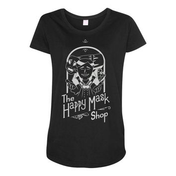happy mask store Maternity Scoop Neck T-shirt