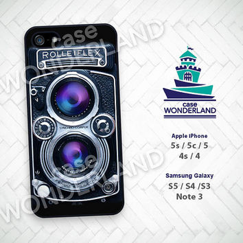 iPhone Case, Rolleiflex, Camera, Vintage, iPhone 5 case, iPhone 5C Case, iPhone 5S case, iPhone 4 Case, iPhone 4S Case, Phone Skin, CR01