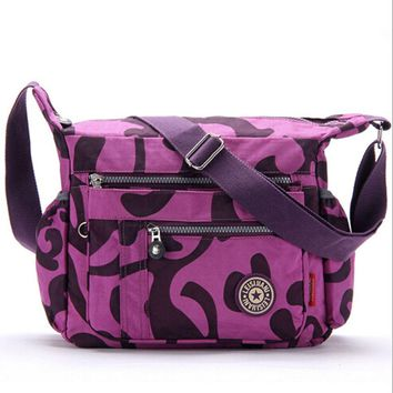 Baby Diaper Bags - Nylon Material - Zipper Closure Type
