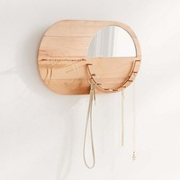 Layla Wall Mounted Jewelry Storage | Urban Outfitters